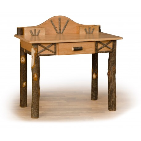 Rustic Oak / Hickory Writing Desk