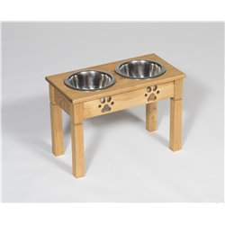 Tall Pine Double Dog Dish