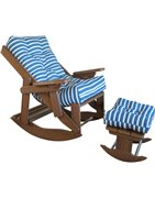 Sling Back Adirondack Chairs w/ Cushions