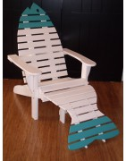 poly fish adirondack chair
