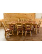 Rustic Kitchen, Dining, & Bar Tables & Seating