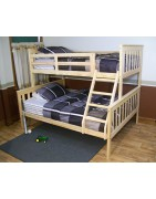 Yellow Pine Mission Style Beds