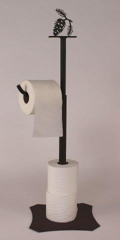 Toilet Paper Holder & Stand