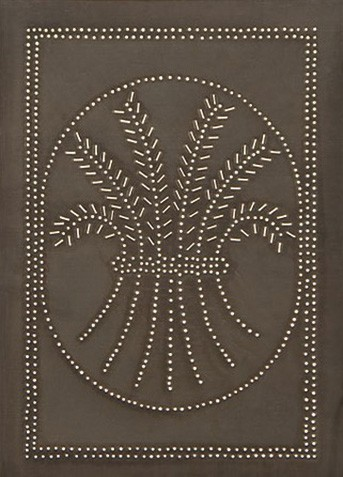 Wheat Panel in Blackened