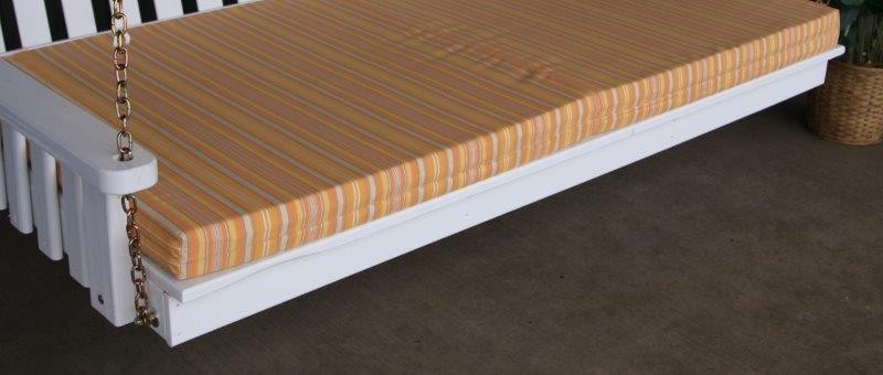 Orange Stripe 4 inches Thick